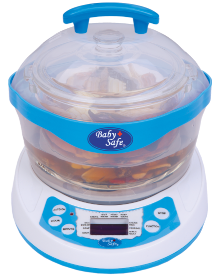 BABYSAFE - 10IN1 STEAMER LB005 - ISI 1 PCS