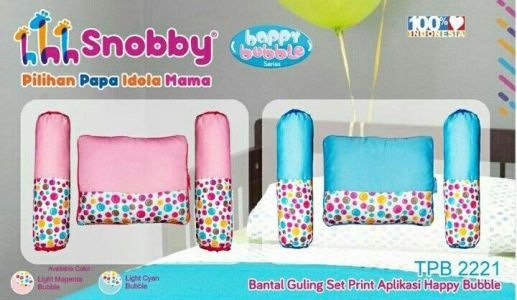 SNOBBY BANTAL GULING BUBLE SERIES-ISI 3 PCS