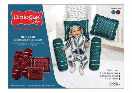 DIALOGUE BANTAL EMERALD-ISI 4 PCS