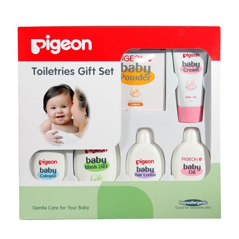 PIGEON TOILETRIES GIFT SET-ISI 7 PCS