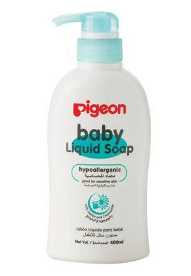 PIGEON LIQUID SOAP SENSITIVE SKIN 400ML-ISI 1 PCS